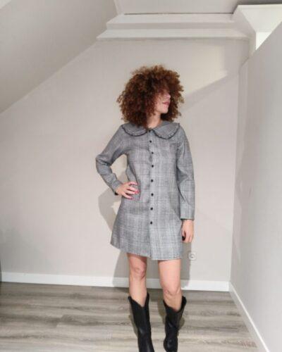 Vestido cuellos