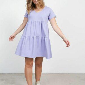 Vestido básico keep lila